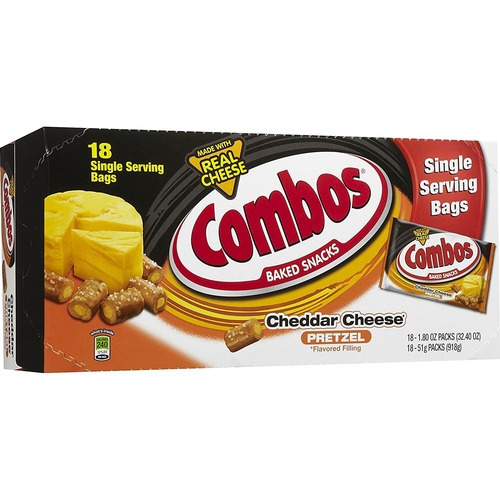 Combos 71471 Mars Flavia Cheddar Cheese Filled Pretzel