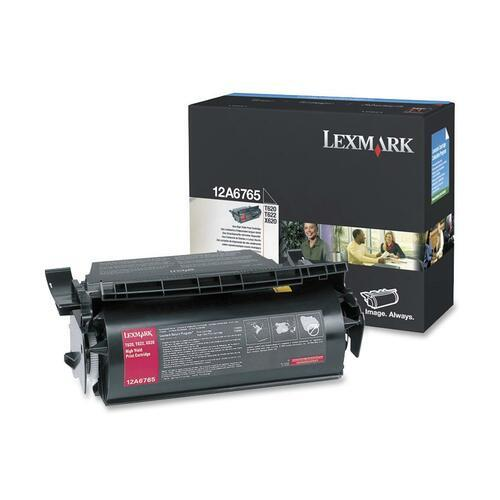 Lexmark 12A6765 Black Toner Cartridge