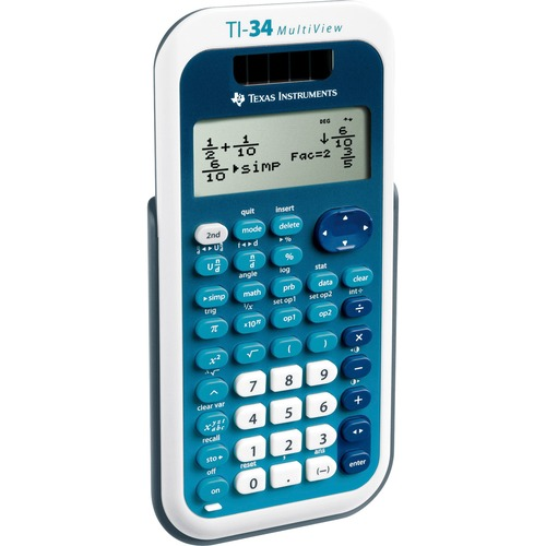 Texas Instruments TI34MV TI34 MultiView Scientific Calculator