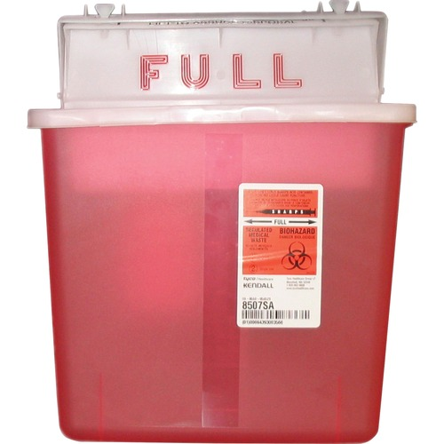 Covidien K5SS1007SA Sharpstar 5 Quart Sharps Container with Lid