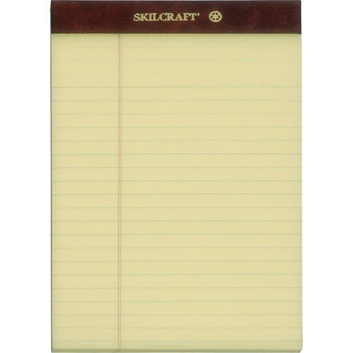 AbilityOne 3566726 Top Bound Perforated Legal Pads