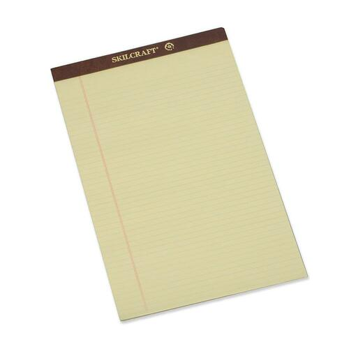 AbilityOne 2096526 Top Bound Perforated Legal Pads