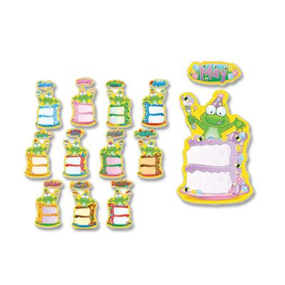 Carson-Dellosa 110112 Birthday Frog Bulletin Board Decoration Set