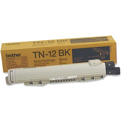 Brother TN12BK Black Toner Cartridge Cartridge
