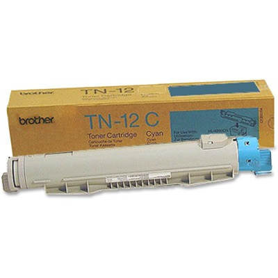 Brother TN12C Cyan Toner Cartridge Cartridge