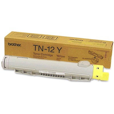 Brother TN12Y Yellow Toner Cartridge Cartridge