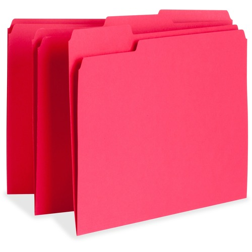 Business Source 65776 Color-coding Top Tab File Folder