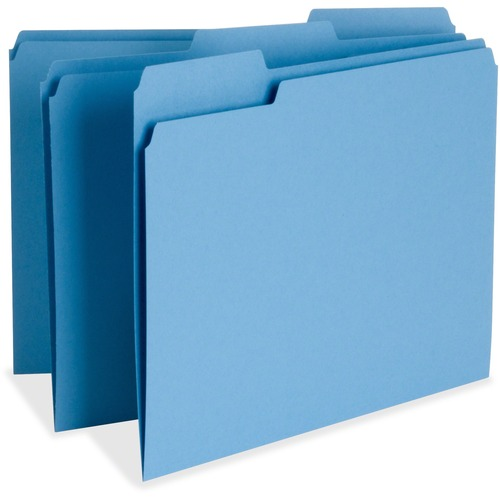 Business Source 65779 Color-coding Top Tab File Folder