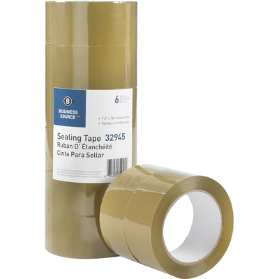 Business Source 32945 Tan Packaging Tape