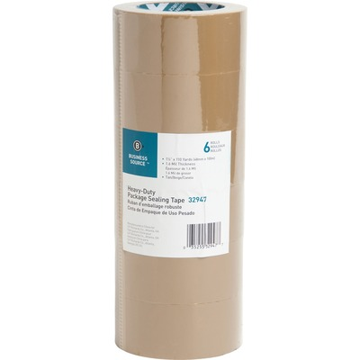 Business Source 32947 Tan Packaging Tape