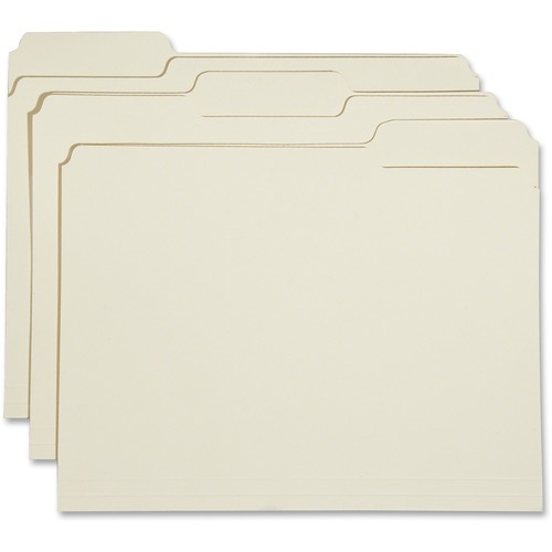 AbilityOne 5830556 1/3-cut 2-ply Top Tab File Folders