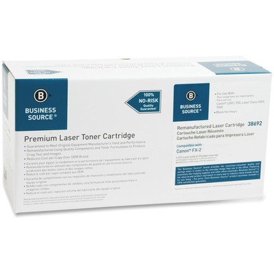 Business Source 38692 Black Toner Cartridge Cartridge