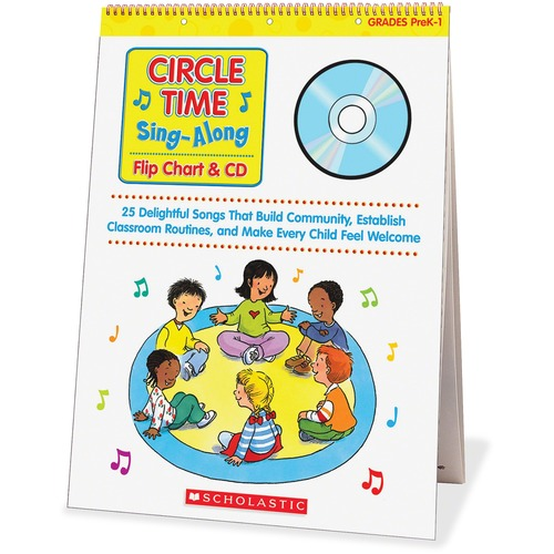 Scholastic 0439635241 Res. Circle Time Sing-Along Flip Chart