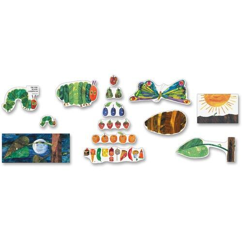 Carson-Dellosa 110132 Very Hungry Caterpillar Bulletin Board Set