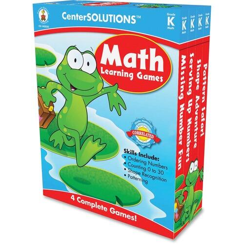 Grade K CenterSolutions 140050 Math Learning Games