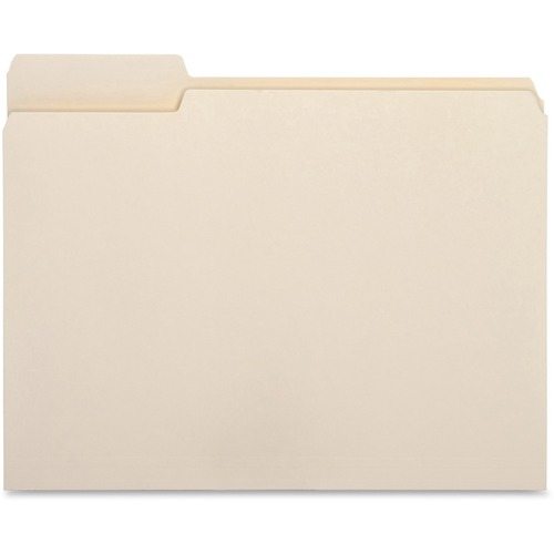 Business Source 16490 Top Tab File Folder