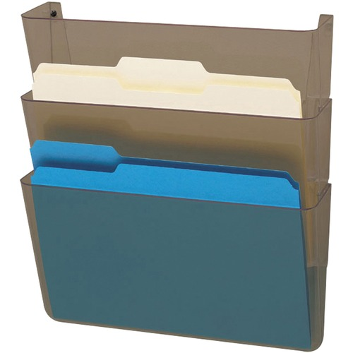 Deflecto 83602 Wall File with Mounting Hardware