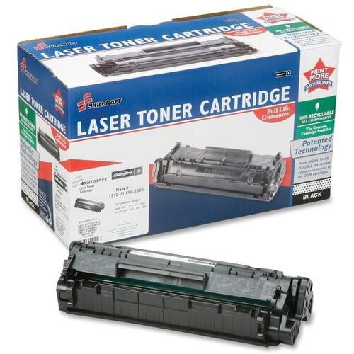 AbilityOne 751001590150 Black Toner Cartridge