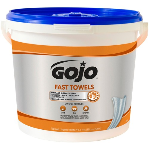 GOJO 629902 Fast Towels Hand/Surface Cleaner