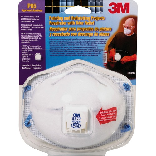 3M 8577PA1B Advanced Filter Relief Respirator