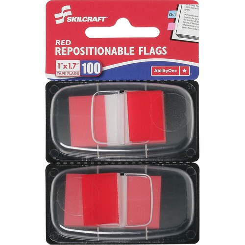 AbilityOne 3152019 Repositionable Self-stick Flags