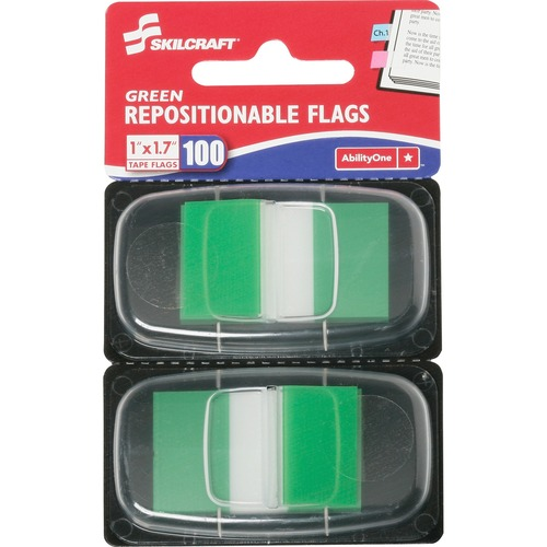 AbilityOne 3152020 Repositionable Self-stick Flags