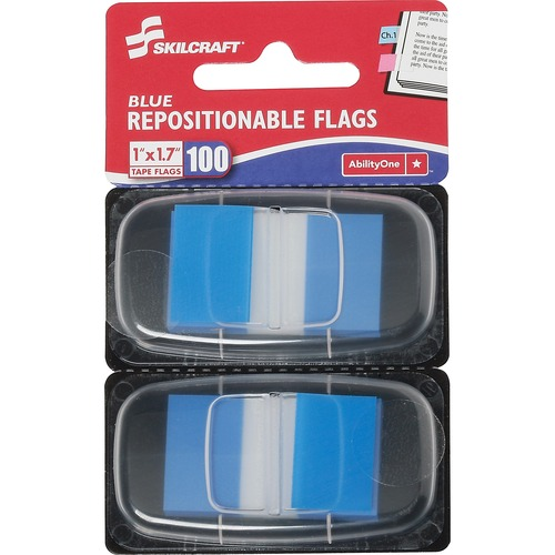 AbilityOne 3152021 Repositionable Self-stick Flags