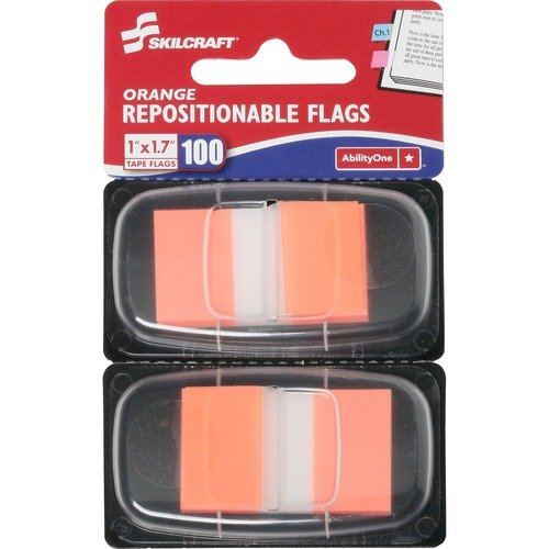 AbilityOne 3152023 Repositionable Self-stick Flags