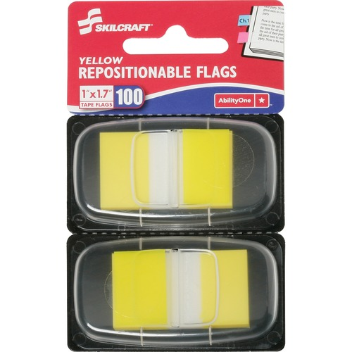AbilityOne 3152024 Repositionable Self-stick Flags