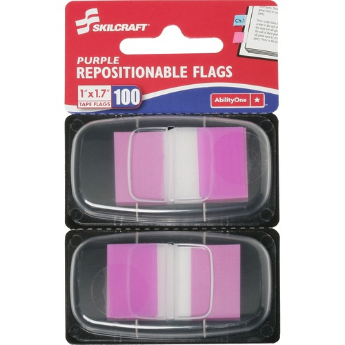 AbilityOne 3158654 Repositionable Self-stick Flags
