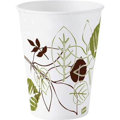 Dixie 58WSCT Pathways Design Wax-treated Cold Cups