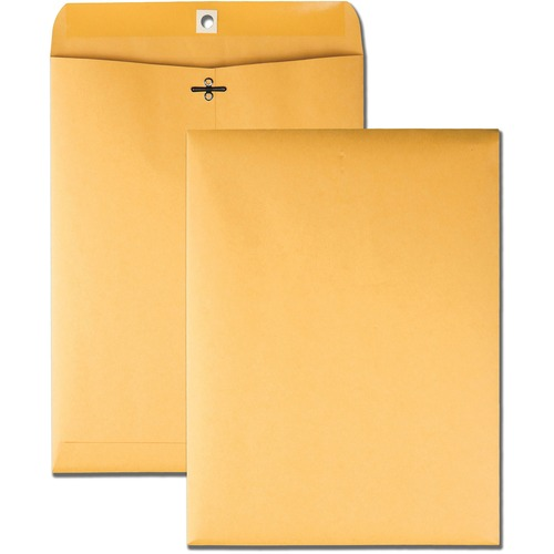 Business Source 04424 Rugged Kraft Clasp Envelope