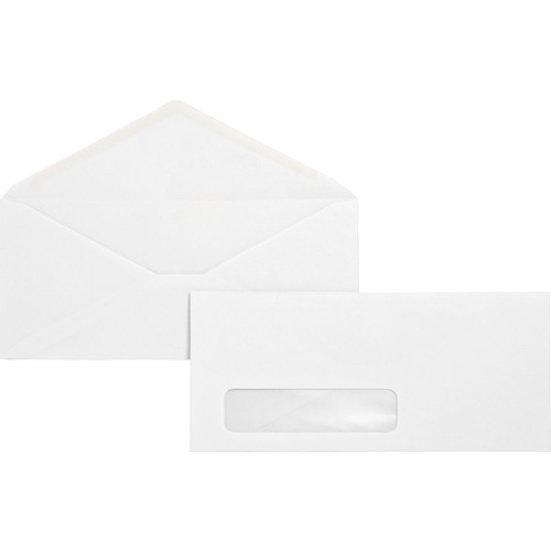 Business Source 04468 No. 10 Window Business Envelope