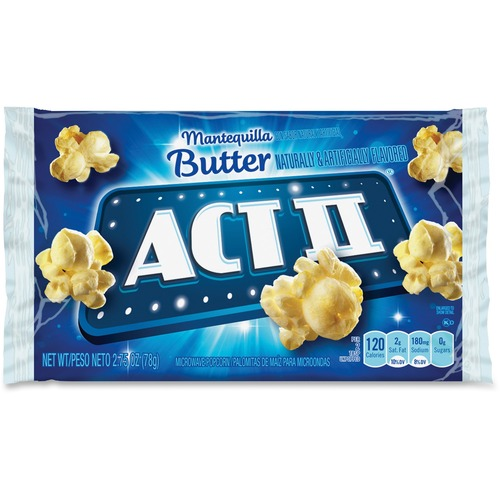 ACT II 23223 Butter Microwave Popcorn