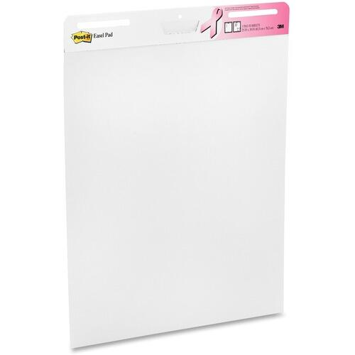 Post-it 5592PKBCA Pink Ribbon Self-stick Easel Pad