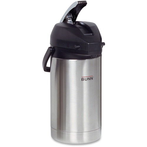 BUNN 321300000 3.0L Stainless Steel Airpot