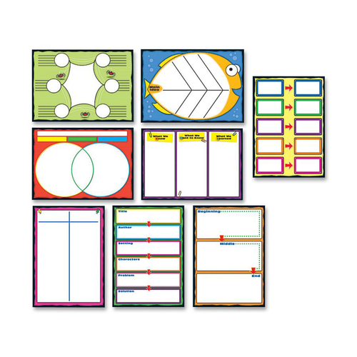 Carson-Dellosa 110161 Graphics Bulletin Board Set