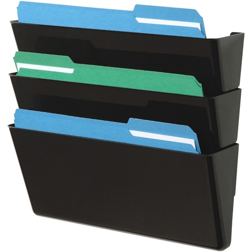 Deflecto 73604 Letter-Size Stackable Wall DocuPocket