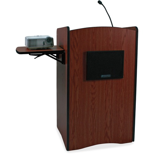 AmpliVox SW3230 UHF Wireless Multimedia Computer Lectern