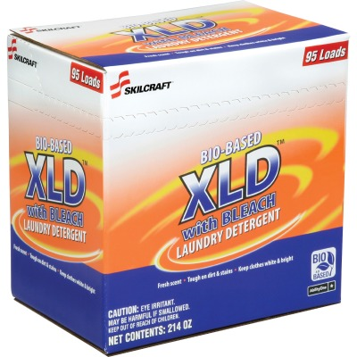 AbilityOne 4907301 Bio-based XLD with Bleach Laundry Detergent