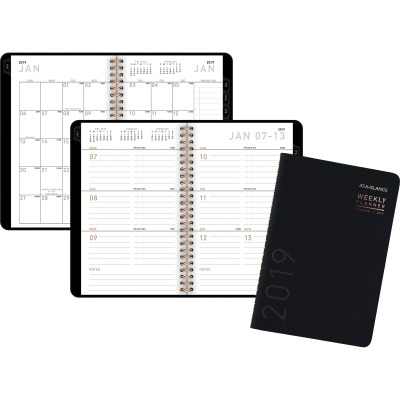 AT-A-GLANCE 70100X05 Contemporary Weekly/Monthly Planner