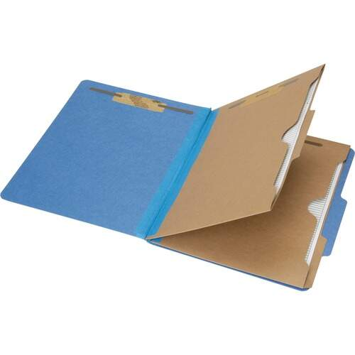 AbilityOne 6006971 Pocket Style 6-part Letter Classification Folders