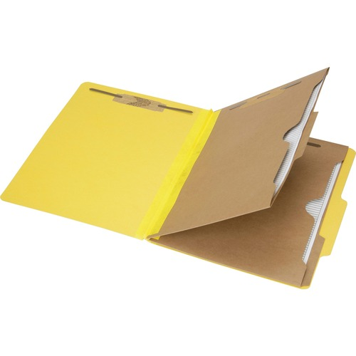 AbilityOne 6006975 Pocket Style 6-part Letter Classification Folders