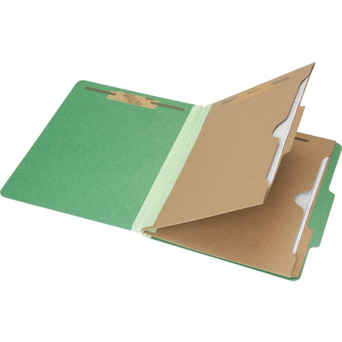 AbilityOne 6006983 Pocket Style 6-part Letter Classification Folders