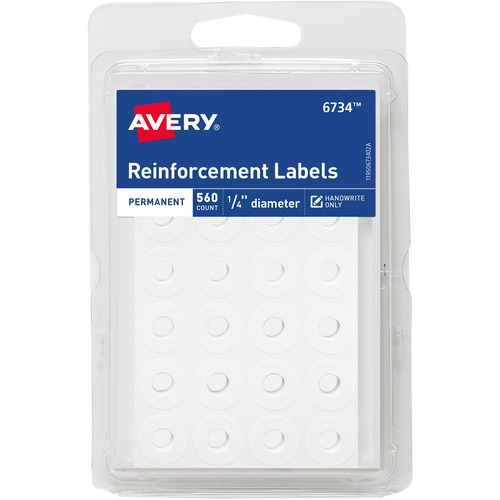 Avery 06734 Permanent Reinforcement Label