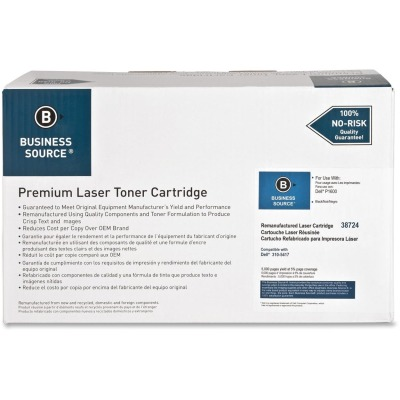 Business Source 38724 Black Toner Cartridge Cartridge