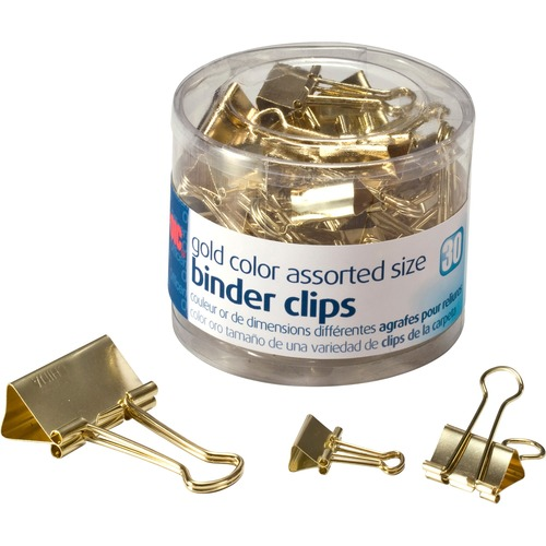 Officemate 31022 Assorted Size Binder Clips