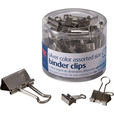 Officemate 31021 Assorted Size Binder Clips