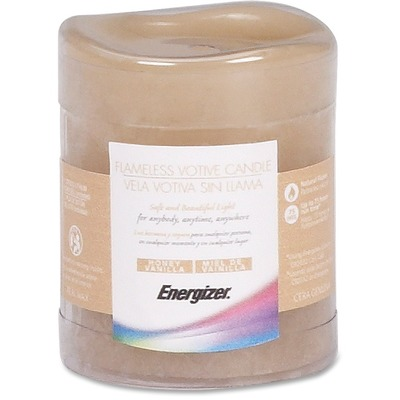 Energizer TVS1DL052 Flameless LED Wax Votive Candle