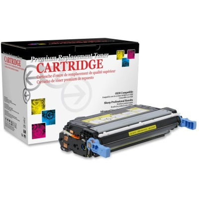 West Point Products 115529P Yellow Toner Cartridge Cartridge